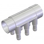 Water Manifold 50 mm - 6 X 19 mm port