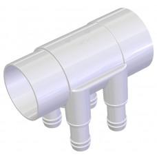 Water Manifold 50 mm - 4 X 19 mm port