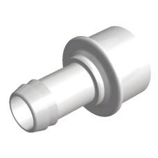 Water Barb 25 mm Spigot - 1 X 19 mm port