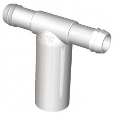 Water Barb Tee 25 mm Spigot - 2 X 19 mm port