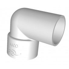 PVC STREET ELBOW 25 mm X 90
