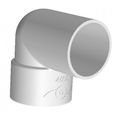 PVC STREET ELBOW 50 mm X 90