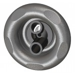 Extreme Twin Spin Spa Pool Jet Grey