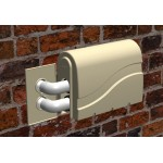 Pro-Tec Spa Pump Cover - LH Outlet 2 Pipe