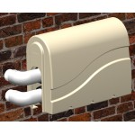 Pro-Tec Spa Bath Pump Cover-Blank Both Ends for Optional Mounting (optional pre-cut version shown below in related products )